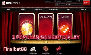 Daftar Anggota Judi Ion Casino, Dan Rasakan Sensasinya