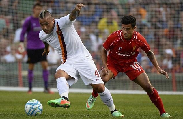 Liverpool kalah dari As Roma di laga Persahabatan ICC