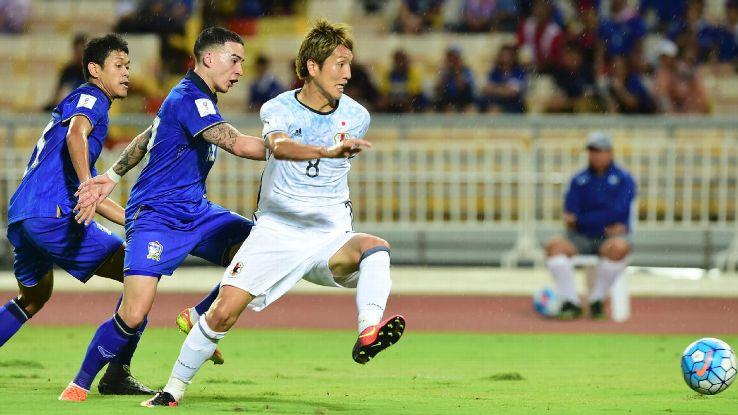 daftar judi bola sbobet Jepang vs Thailand
